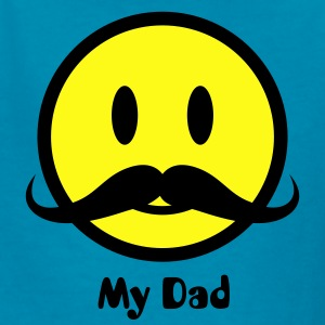 Mustache Smiley Icon 2c Kids' Shirts - Kids' T-Shirt