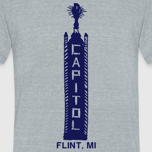 Capitol Theater T-Shirts - Unisex Tri-Blend T-Shirt by American Apparel