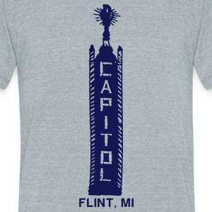 Capitol Theater T-Shirts - Unisex Tri-Blend T-Shirt