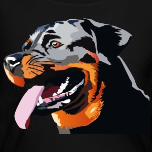 Rottweiler - Women's Long Sleeve Jersey T-Shirt