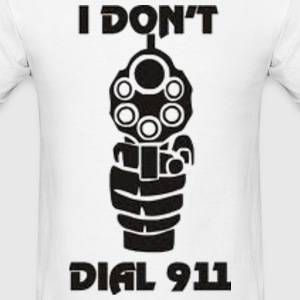 No 911 guns T-Shirts - Men's T-Shirt