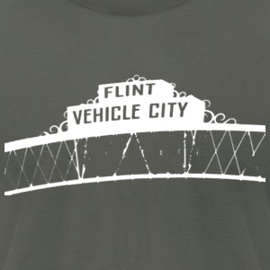 Flint Vehicle City T-Shirts - Men's T-Shirt by American Apparel