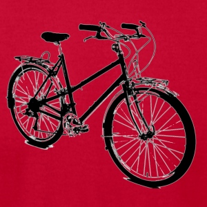 Cruiser BIcycle T-Shirts - Men's T-Shirt by American Apparel