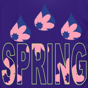 raindrops_of_spring_flowers3 Zip Hoodies/Jackets - Unisex Fleece Zip Hoodie by American Apparel