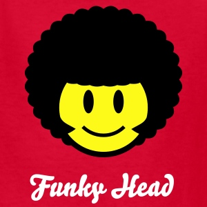 Afro Smiley Icon 2c Kids' Shirts - Kids' T-Shirt