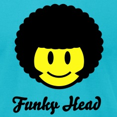 Afro Smiley Icon 2c T-Shirts
