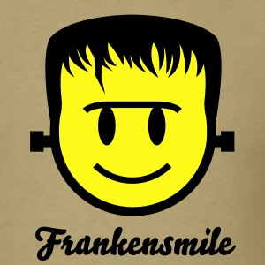 Frankenstein Smiley Icon 2c T-Shirts - Men's T-Shirt