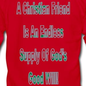 a_christian_friend2 Zip Hoodies/Jackets - Unisex Fleece Zip Hoodie by American Apparel