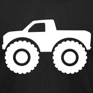 Monster truck T-Shirts - Men's T-Shirt by American Apparel