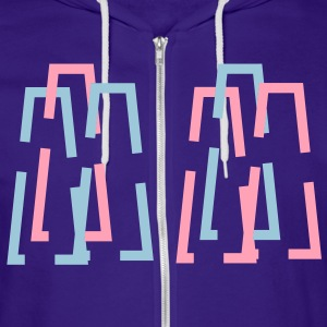 charts Zip Hoodies/Jackets - Unisex Fleece Zip Hoodie by American Apparel