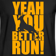 Design ~ Better Run Deer--Neon