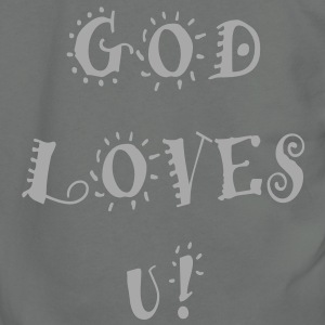 god_loves_u Zip Hoodies/Jackets - Unisex Fleece Zip Hoodie by American Apparel