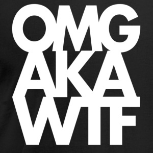 OMG AKA WTF - Men's T-Shirt by American Apparel