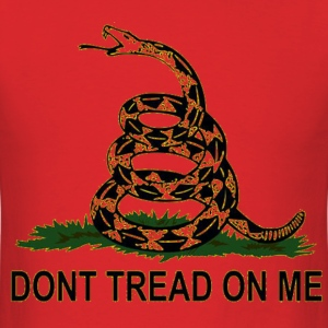Do not tread on me T-Shirts - Men's T-Shirt