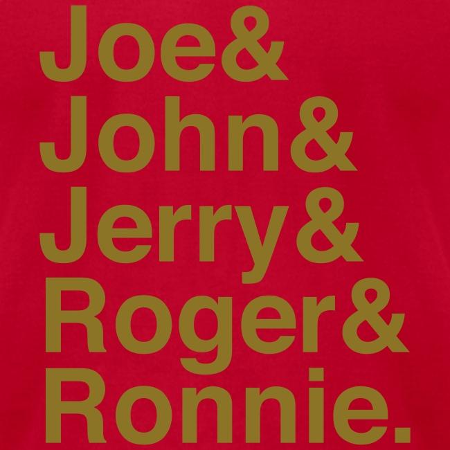 49ers (1988) (Gold glitter)