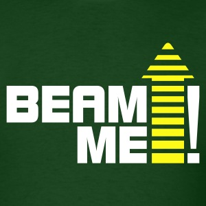 Beam me up 1_2c T-Shirts - Men's T-Shirt