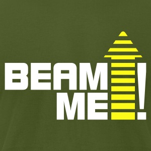 Beam me up 1_2c T-Shirts - Men's T-Shirt by American Apparel