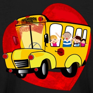 School Bus - Kids' Long Sleeve T-Shirt