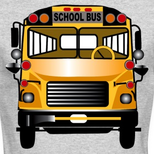 School Bus - Men's Long Sleeve T-Shirt by Next Level