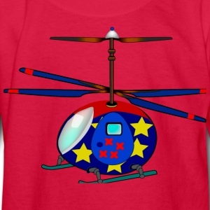 Helicopter - Kids' Long Sleeve T-Shirt