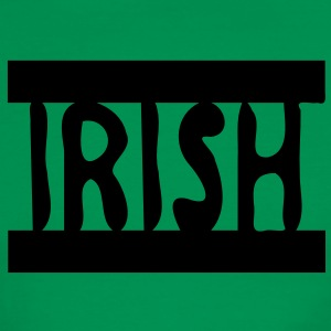IRISH Men's Ringer T-Shirt by American Apparel - Men's Ringer T-Shirt