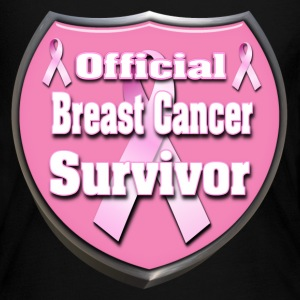 Breast Cancer Official Survivor Badge 4 correct Long Sleeve Shirts - Women's Long Sleeve Jersey T-Shirt
