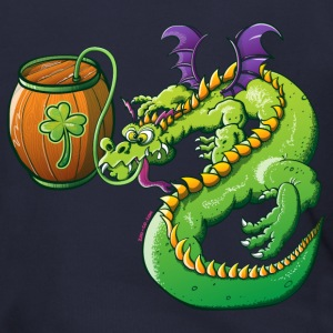 Drunk St Patrick's Day Dragon Zip Hoodies/Jackets - Men's Zip Hoodie