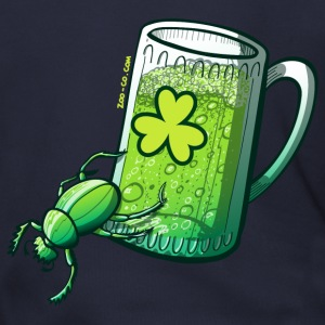 Saint Patrick's Day Beetle Zip Hoodies/Jackets - Men's Zip Hoodie