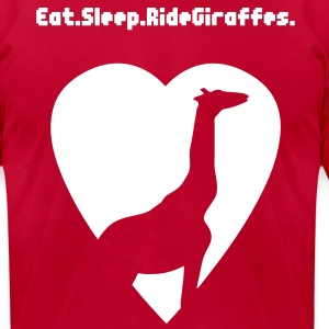 Tyler The Creator Ride Giraffes Tee - Men's T-Shirt by American Apparel