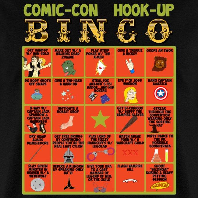 Comic-Con Hook Up Bingo