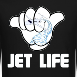 JET life. Long Sleeve Shirts - Crewneck Sweatshirt