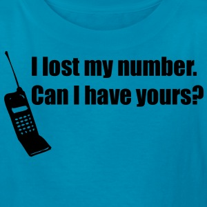 I Lost My Number Kids' Shirts - Kids' T-Shirt