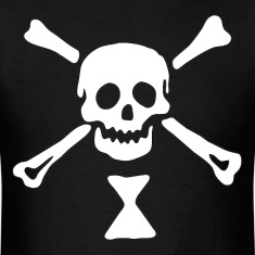 Emanuel Wynne Pirate Flag T-Shirts