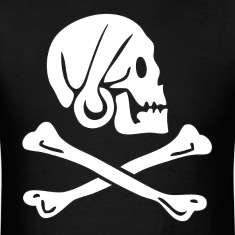 Henry Every Pirate Flag T-Shirts