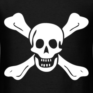 Richard Worley Pirate Flag T-Shirts - Men's T-Shirt