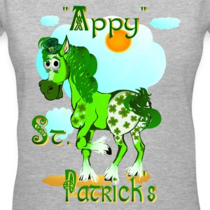 Appy St. Pattrick's  - Women's V-Neck T-Shirt