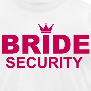 Bride Security T-Shirts - Men's T-Shirt by American Apparel