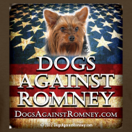 Design ~ Official Dogs Against Romney Yorkie Women's Tee