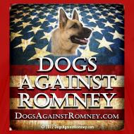 Design ~ Official Dogs Against Romney German Shepherd Women's Tee
