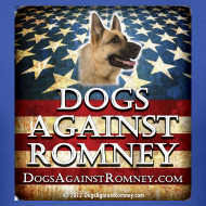 Design ~ Official Dogs Against Romney German Shepherd Tee