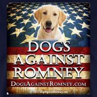 Design ~ Official Dogs Against Romney Labrador Retriever Tee