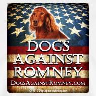 Design ~ Official Dogs Against Romney Irish Setter Tee