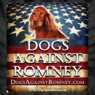 Design ~ Official Dogs Against Romney Irish Setter Tie-Dye Tee