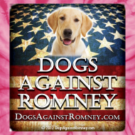 Design ~ Official Dogs Against Romney Labrador Retriever Tie-Dye Tee