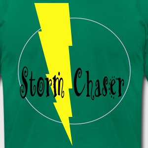 chasing_storms T-Shirts - Men's T-Shirt by American Apparel