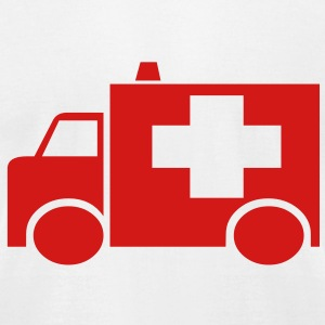 911_ambulance T-Shirts - Men's T-Shirt by American Apparel