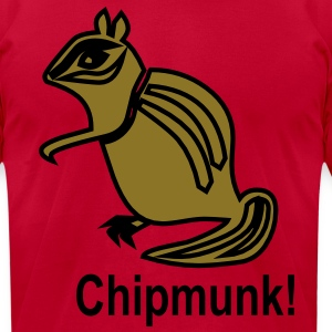 chipmunk T-Shirts - Men's T-Shirt by American Apparel