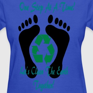 one_step_together3 Women's T-Shirts - Women's T-Shirt