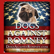 Design ~ Official Dogs Against Romney Pug Women's Tee