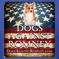 Design ~ Official Dogs Against Romney Corgie Tee